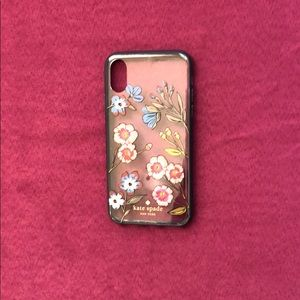 ✨ kate spade floral iPhone X case